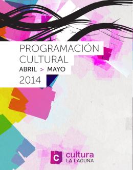 PROGRAMACIÓN CULTURAL 2014