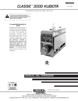 CLASSIC® 300D KUBOTA