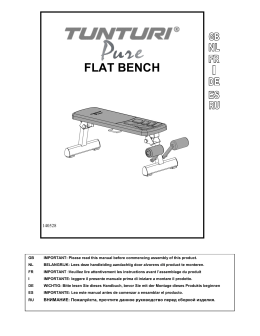 141001 pure flat bench owner`s manual