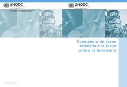 Compendio de casos relativos a la lucha contra el terrorismo