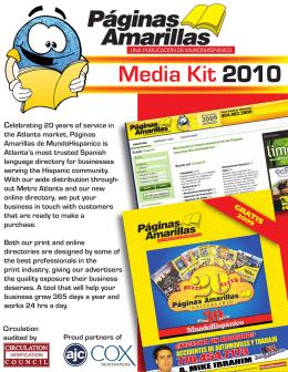 front cover - Paginas Amarillas
