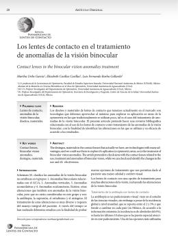 Donwload PDF - RPALC - Revista Panamericana de Lentes de