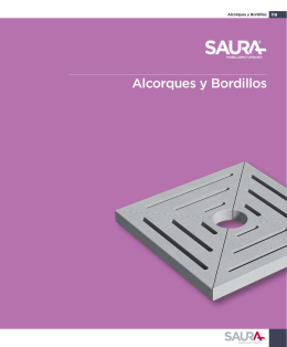 Alcorques y Bordillos