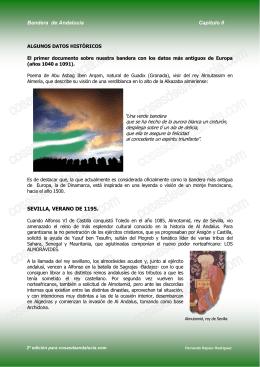 Bandera de Andalucia, capitulo II