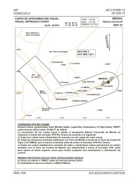 AIP VENEZUELA SNA / AIS AD 2.SVMD-13 05 FEB 15 5TA