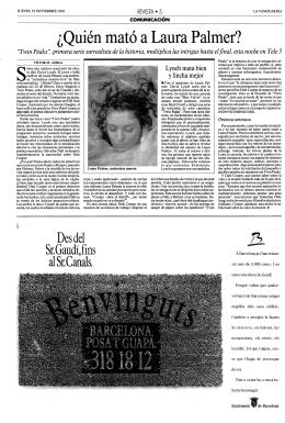 ¿Quién mató a. Laura Palmer?