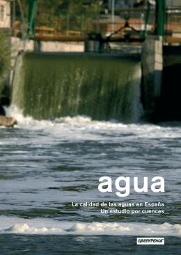 La calidad de las aguas en España Un estudio por