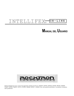 Manual de Usuario Inteliflex