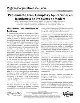 Pensamiento Lean: Ejemplos y Aplicaciones en la