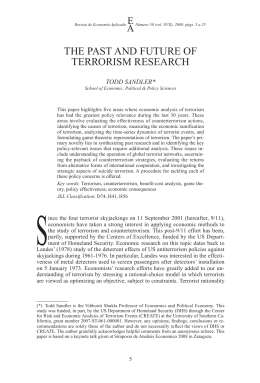 phd thesis terrorism Reference: sabir, r, 2014 understanding counter-terrorism policy and practice in the uk since 9/11 thesis (doctor of philosophy (phd).