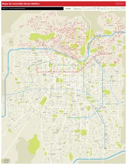 Mapa de recorridos Buses Redbus