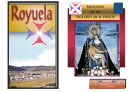 """Septenario de los """"DOLORES de la VIRGEN"""""""