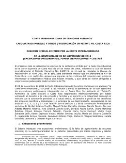 """Artavia Murillo y otros (""""Fecundación in vitro"""") vs. Costa Rica"""