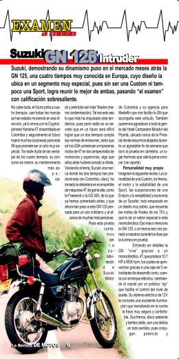 GN 125 / Edición 09 - La Revista De Motos