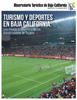 Boletin Turismo Deportivo - Observatorio Turístico de Baja California