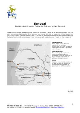 Senegal - Viajes Tuareg