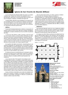 Iglesia de San Vicente de Abando