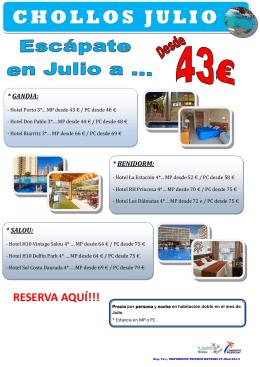 CHOLLOS JULIO - Tuserco Hoteles