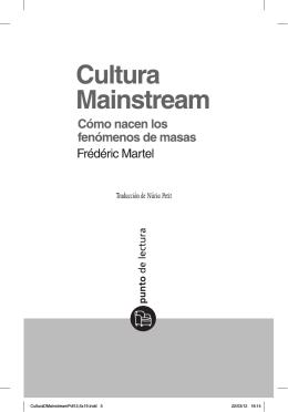 Primeras páginas de Cultura Mainstream
