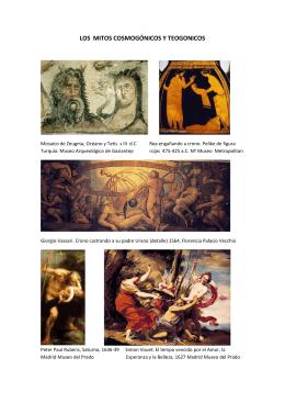 Mitologia e Iconografia - Grado de Historia del Arte UNED