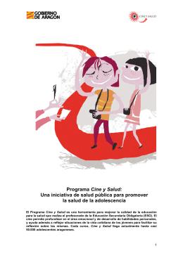 Programa Cine y Salud: Una iniciativa de salud pública para