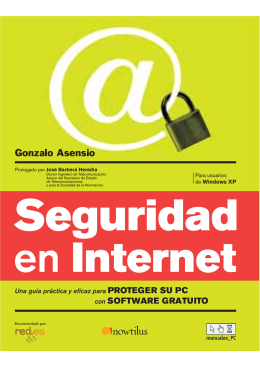 - Seguridad en Internet
