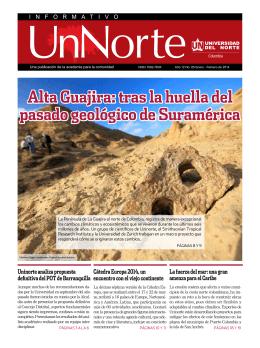 Alta Guajira: tras la huella del pasado geológico de Suramérica Alta