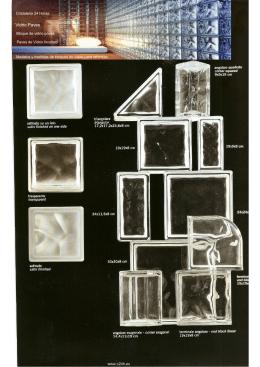 Bloque vidrio paves modelos - Bloques de paves ...