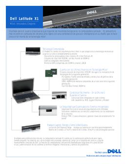 Dell Latitude X1