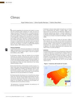Climas. Formato PDF