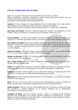 Ruta Ortegal PDF