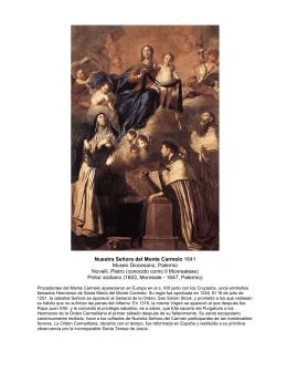 Nuestra Señora del Monte Carmelo 1641 Museo Diocesano