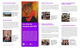 Descarga la Ruta de los Museos - Instituto de Cultura Puertorriqueña