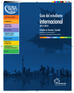 internacional - George Brown College