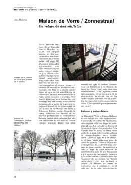 Maison de Verre / Zonnestraal - POLI-RED