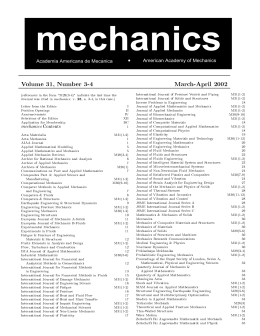 PDF version - American Academy of Mechanics