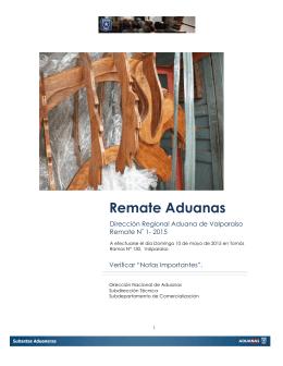 Catálogo Primera Subasta 2015