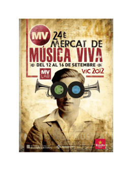 aquí - Mercat de Música Viva de Vic