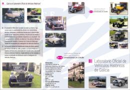 Laboratorio Oficial de Vehículos Históricos de Galicia
