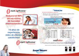Reduzca el 90% en sus costos de llamadas