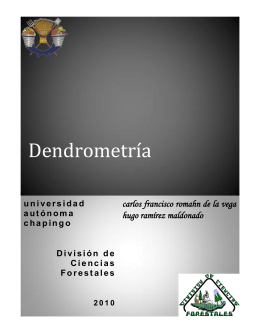 Dendrometría - Universidad Autónoma Chapingo