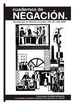 Cuadernos de Negación N°2:Clases sociales o la maldita
