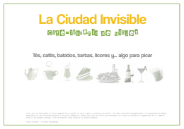carta en PDF - La Ciudad Invisible