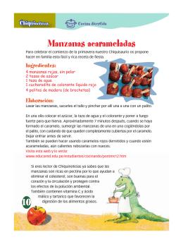 Manzanas acarameladas (Nº 19)