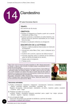 clandestino - Español para inmigrantes y refugiados