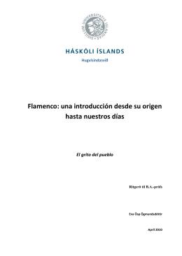 Flamenco: una introducción desde su origen hasta