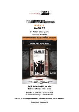 HAMLET - Teatro Español