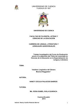 segunda parte - Universidad de Cuenca