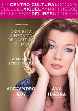 AnA IbArrA AlejAndro roy - Auditorio Miguel Delibes