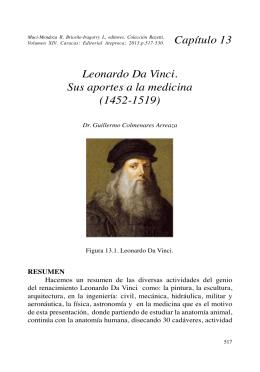Leonardo Da Vinci. Sus aportes a la medicina (1452